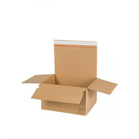 Karton fasonowy z automatycznym dnem AUTO 70 (325x250x185) - 10 sztuk