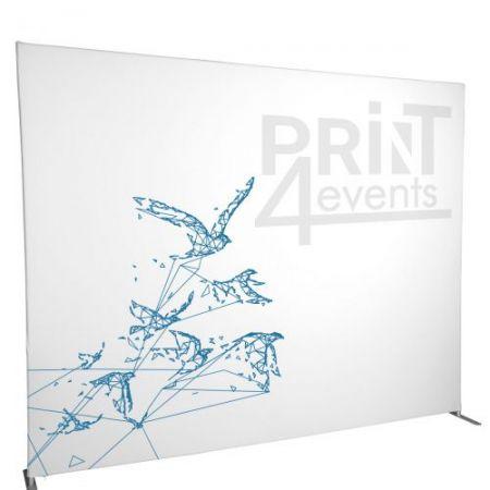 Ścianka tekstylna prosta ➲ Print4Events.pl