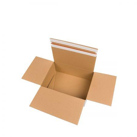 Karton zwrotny biało- szary- Print4Events