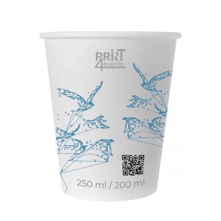 Kubki papierowe z nadrukiem 200 ml - Print4Events