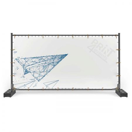 Baner frontlit- zgrzew + oczka wokoło co 50 cm