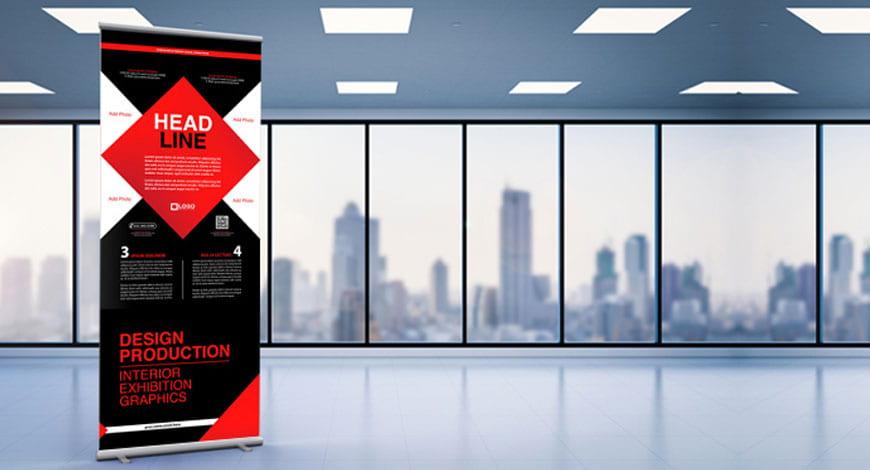 Rollupy, czyli uniwersalne mobilne nośniki reklamowe