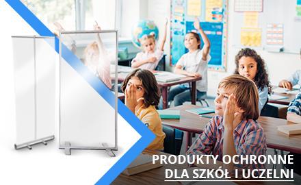 Produkty ochronne dla szkół